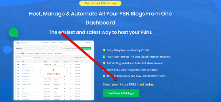 How To Get Easyblognetworks Free Trial
