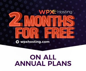 2 months free wpx hosting on annual plan and free ssl certificates with all domains
