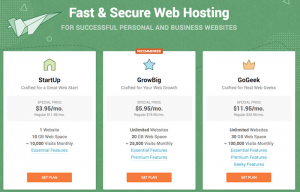 SiteGround vs iPage Web Hosting
