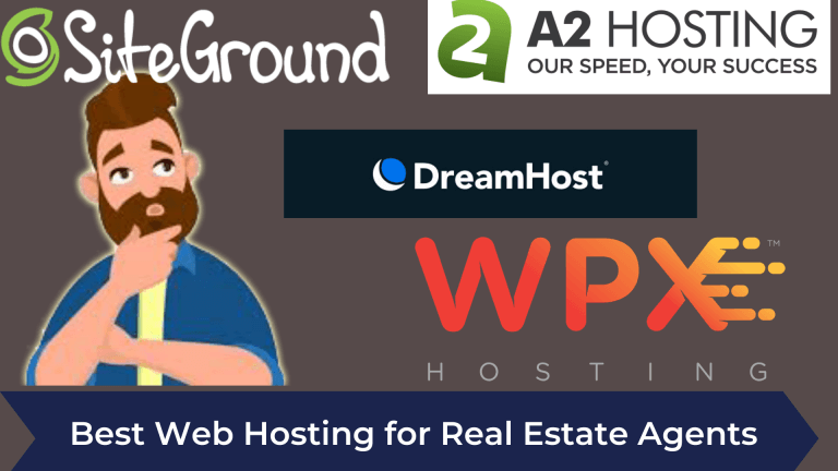 Best Web Hosting for Real Estate Agents