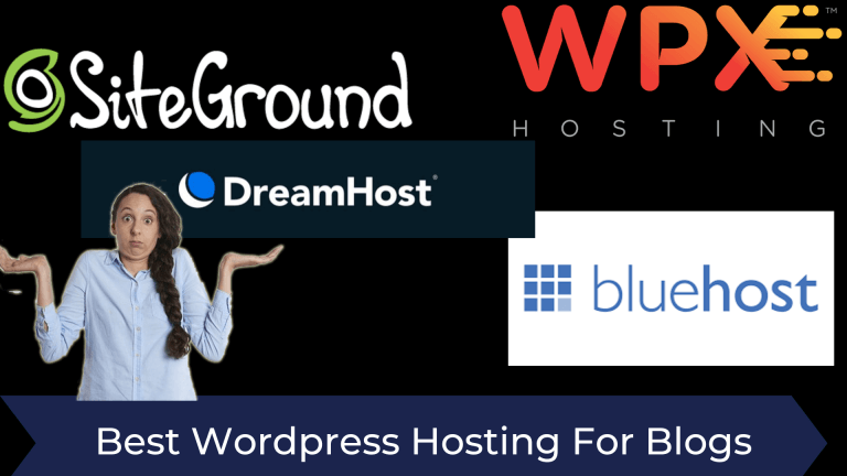 Best WordPress Web Hosting For Blogs