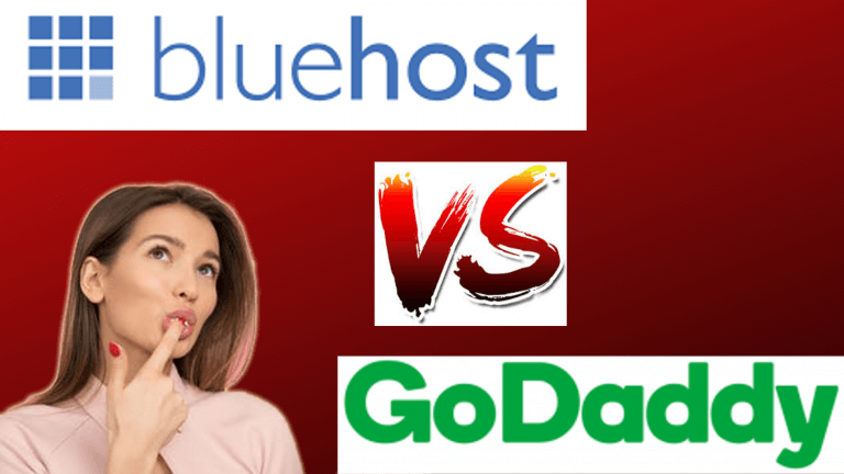 Bluehost Web Hosting Vs Godaddy Web Hosting 2020