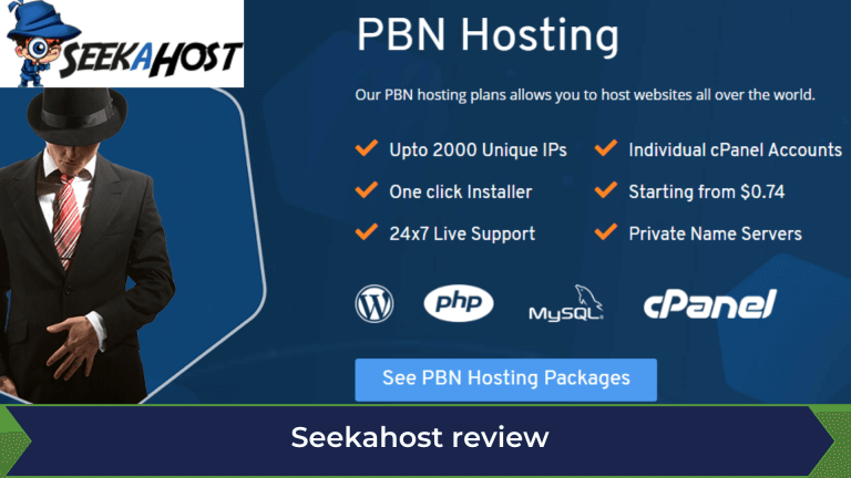 Seekahost PBN Hosting Review