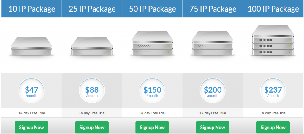 cloak hosting pricing